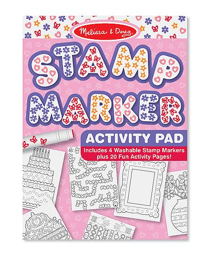 Stamp marker activity book