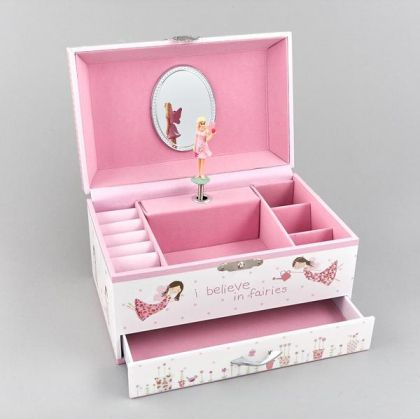 Musical Jewellery Box Fairy Blossom