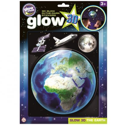 Glow 3D The Earth