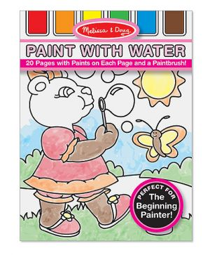 Paint with water pink