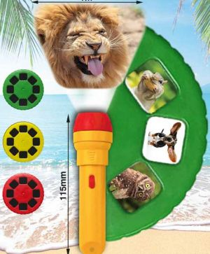 Funny Animals Torch and Projector